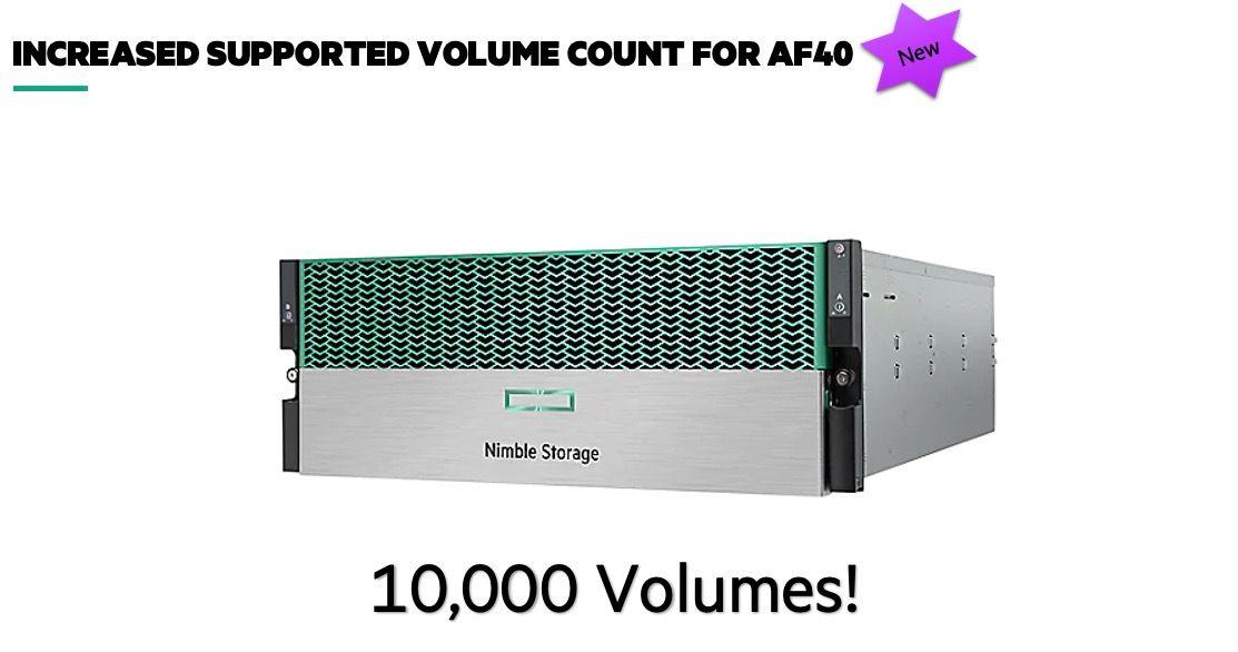 Increased Volumes
